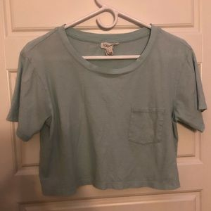 Forever 21 Mint Crop Top
